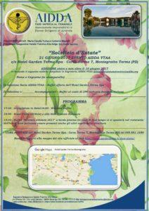 Programma e Adesione 21 giugno 2017 AIDDA VTAA