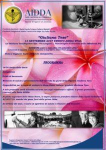 Programma e Adesione 13 settembre 2017 AIDDA VTAA-1