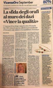 Roberta Scanavin - Articolo GdiVI 27 settembre 2017